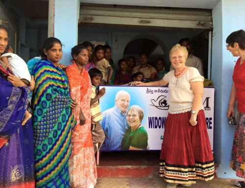 Widows sewing project