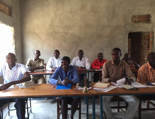 Bible school in Africa
